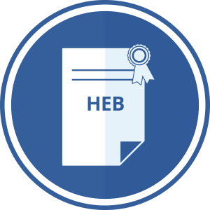 ISO HEB + ENG CERTIFICATE